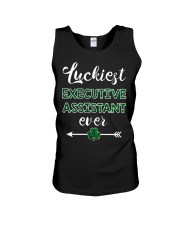 Luckiest Executive Assistant Ever Unisex Tank thumbnail