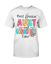 Best freakin' Aunt and Godmother ever Classic T-Shirt thumbnail