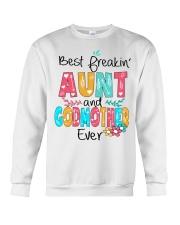 Best freakin' Aunt and Godmother ever Crewneck Sweatshirt thumbnail