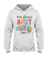 Best freakin' Aunt and Godmother ever Hooded Sweatshirt thumbnail