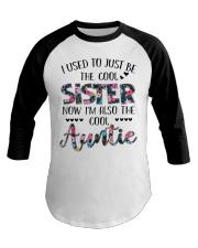 Cool Auntie Baseball Tee thumbnail