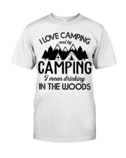 I love camping Classic T-Shirt thumbnail