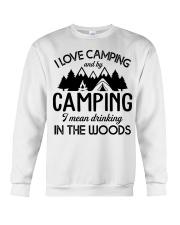 I love camping Crewneck Sweatshirt thumbnail