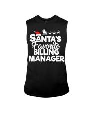Santa's favorite Billing Manager Sleeveless Tee thumbnail