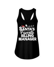 Santa's favorite Billing Manager Ladies Flowy Tank thumbnail