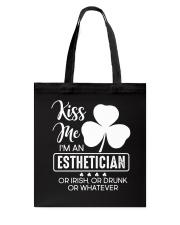 Kiss Me - Irish Esthetician Tote Bag thumbnail
