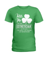 Kiss Me - Irish Esthetician Ladies T-Shirt front