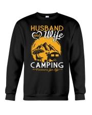 Husband wife camping partner for life Crewneck Sweatshirt thumbnail