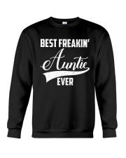 Best freakin' auntie ever Crewneck Sweatshirt thumbnail