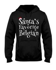 Santa's Favorite Belgian Hooded Sweatshirt front