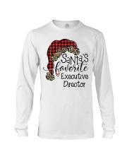 Santa's favorite Executive Director Long Sleeve Tee tile