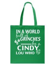 Cinndy Tote Bag tile