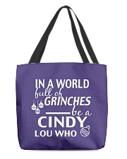 Cinndy All-Over Tote tile