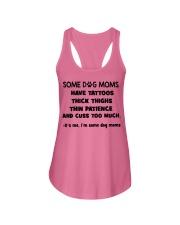 Tattooed dog moms puppy lovers Ladies Flowy Tank thumbnail