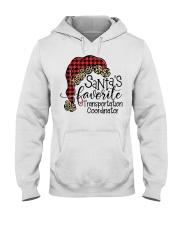 Transportation Coordinator Hooded Sweatshirt front