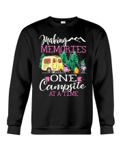 Camping memories one campsite at a time Crewneck Sweatshirt thumbnail