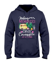 Camping memories one campsite at a time Hooded Sweatshirt thumbnail
