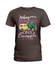 Camping memories one campsite at a time Ladies T-Shirt thumbnail