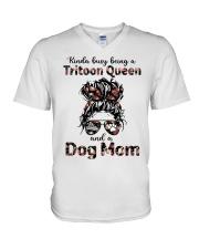 tritoon V-Neck T-Shirt tile