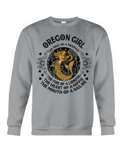 Oregon Mermaid Girl Crewneck Sweatshirt front