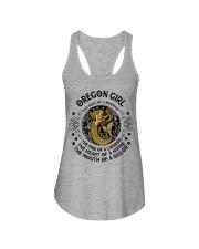 Oregon Mermaid Girl Ladies Flowy Tank thumbnail
