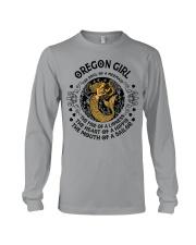 Oregon Mermaid Girl Long Sleeve Tee thumbnail