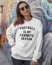 Football is my favorite season Crewneck Sweatshirt lifestyle-unisex-sweatshirt-front-3