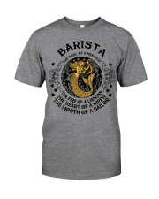 BARISTA MERMAID Classic T-Shirt tile