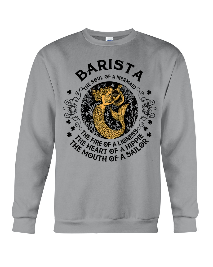 BARISTA MERMAID Crewneck Sweatshirt