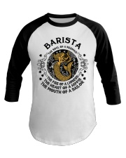 BARISTA MERMAID Baseball Tee thumbnail