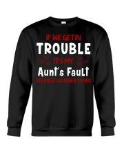 Cute aunt and nephew trouble Crewneck Sweatshirt thumbnail
