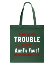 Cute aunt and nephew trouble Tote Bag thumbnail