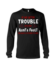 Cute aunt and nephew trouble Long Sleeve Tee thumbnail