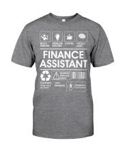Finance Assistant Classic T-Shirt thumbnail