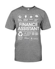 Finance Assistant Premium Fit Mens Tee thumbnail