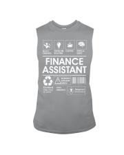 Finance Assistant Sleeveless Tee thumbnail