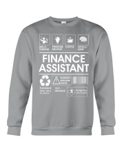 Finance Assistant Crewneck Sweatshirt thumbnail