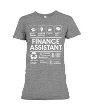 Finance Assistant Premium Fit Ladies Tee thumbnail
