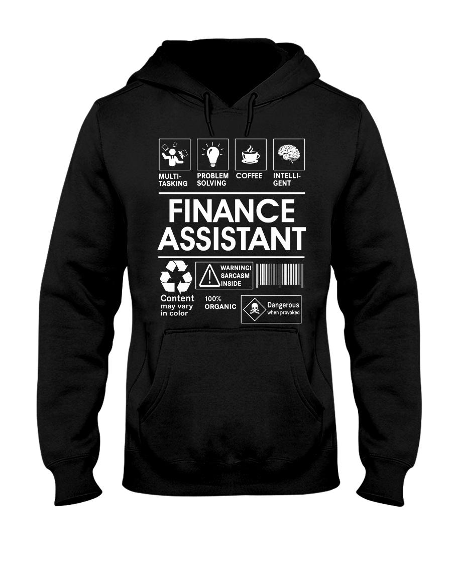 Finance Assistant Hooded Sweatshirt