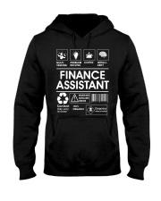 Finance Assistant Hooded Sweatshirt front