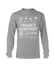 Finance Assistant Long Sleeve Tee thumbnail