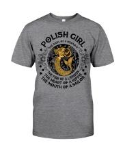 POLISH GIRL MERMAID Classic T-Shirt thumbnail