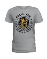 POLISH GIRL MERMAID Ladies T-Shirt thumbnail