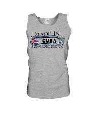 Made in Cuba along time ago Unisex Tank thumbnail