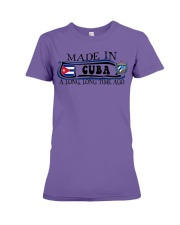 Made in Cuba along time ago Premium Fit Ladies Tee thumbnail