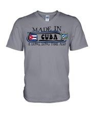 Made in Cuba along time ago V-Neck T-Shirt thumbnail