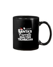 Santa's favorite Dialysis Technician Mug thumbnail