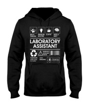 Laboratory Assistant Hooded Sweatshirt front