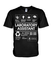 Laboratory Assistant V-Neck T-Shirt thumbnail