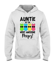 Auntie of the most awesome peeps Hooded Sweatshirt thumbnail